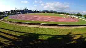 競技場の秋