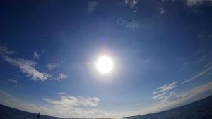 束の間の晴天