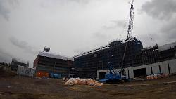 新八重山病院建設中
