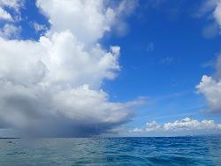 台風の影響が・・・